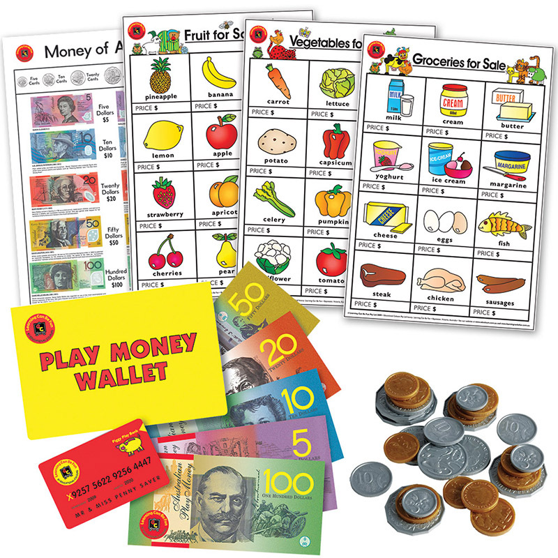 LCBF Play Money & Poster Super Set - 216pcs