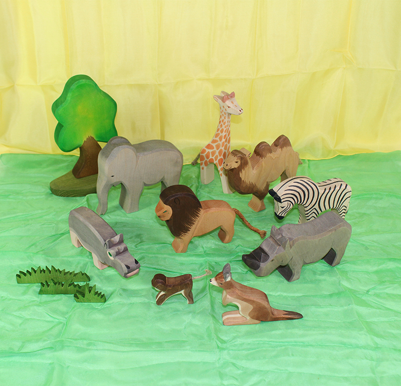 Ostheimer Zoo & Wildlife Small Set 13pcs