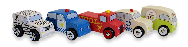 Discoveroo Emergency Car Set - 5pcs