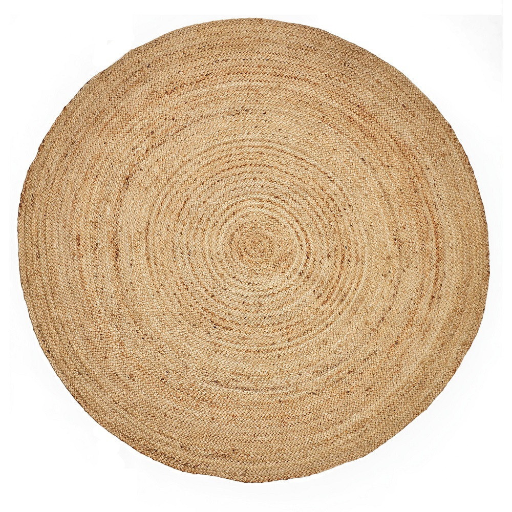 Recycled Indian Jute Rug - Round 2m
