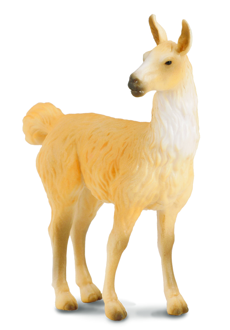CollectA Farm Life Replica - Llama 7 x 9cmH