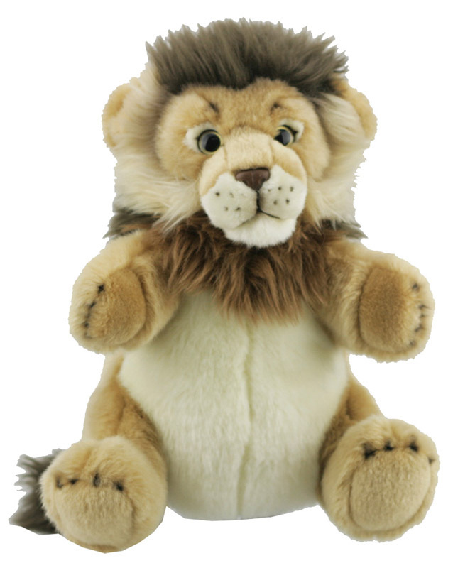 National Geographic Hand Puppet - Lion 30cm