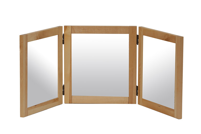 Billy Kidz Birch Three Way Large Mirror