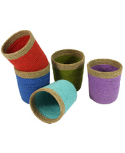 Natural Jute Mini Basket - Set of 5