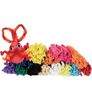 Pipe Cleaner Assorted Colours - Short 150mm 1000pk