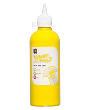 EC Fabric & Craft Paint 500ml - Yellow