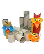 Hygienic Craft Rolls - Assorted Sizes 60pk