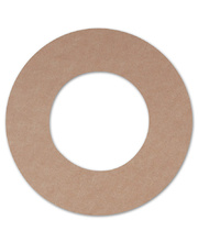 >Cardboard Wreath Base - with inner Circles 30pk