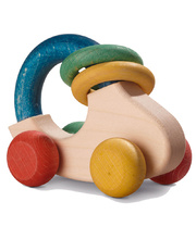 Walter Wooden Baby Toys - Grip & Car