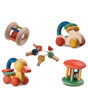 Walter Wooden Baby Toys - Set of 9