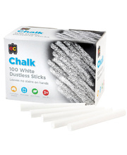 EC Blackboard Chalk - White 100pk