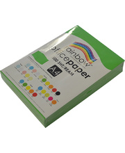 Rainbow Office/Copy Solid Colour Paper - 80gsm A4 Ream Green