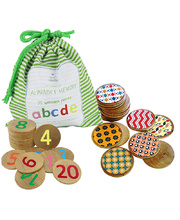 Wooden Memory Game - Set of 3