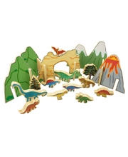 The Happy Architect Dinosaurs - 22pcs