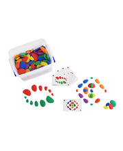 Rainbow Pebbles Classroom Set - 302pcs