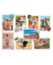 Aboriginal People Puzzles - Set of 8