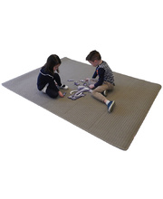 Natural Seating Carpet Mat - Rectangle Coffee 2.4 x 1.8m