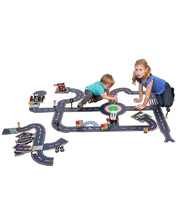 Tuzzles Super Roadway - Suburban & Expansion Sets 75pcs