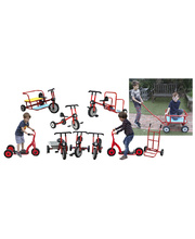 Billy Kidz Set of Trikes, Bikes & Scooters - 10pcs