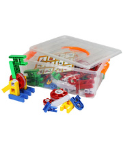 Billy Kidz Construction Set - Building & Wheels 160pcs