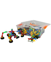 Billy Kidz Construction Set - Pop & Snap Connectors 300pcs