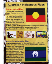 Australian A3 Poster - Indigenous Flags