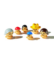 Mobilo Mixed Figures 6pcs - Light