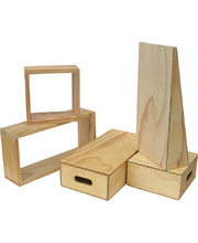 @Outdoor Hollow Blocks 9mm Plywood - 66pcs