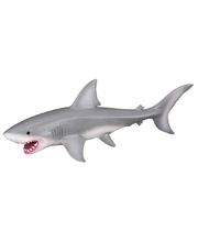 CollectA Sea Life Replica - Great White Shark 19.5 x 7cmH