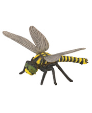 CollectA Insects & Bug Life Replica - Golden Tailed Dragonfly 11 x 7.5cmH
