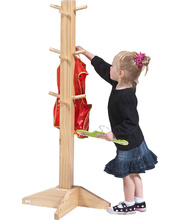 Billy Kidz Timber Smock/Apron Stand With 12 Hooks