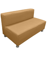 Billy Kidz Cozy Sofa Suite 2 Seater - Coffee